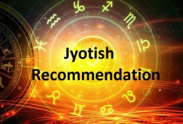 Jyotish Recommendations