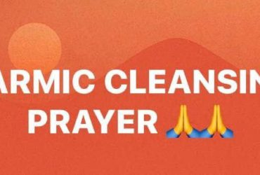 Karmic Cleansing Prayer